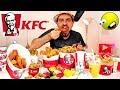 تحدي المنيو الكامل من كنتاكي بمعدل ۲٥۰۰۰ سعرة حرارية ! KFC Full Menu Challenge - ASMR Eating
