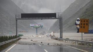 Mudslides in Sichuan province, China