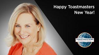 Happy Toastmasters New Year