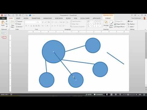 How to Add Connectors to PowerPoint Shapes