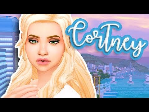 THE SIMS 4 CAS | CORTNEY | + LIFE UPDATE!