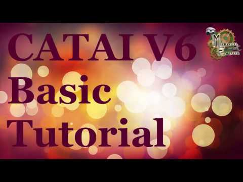 Catia V6 Basic tutorial for Begineer in Hindi English