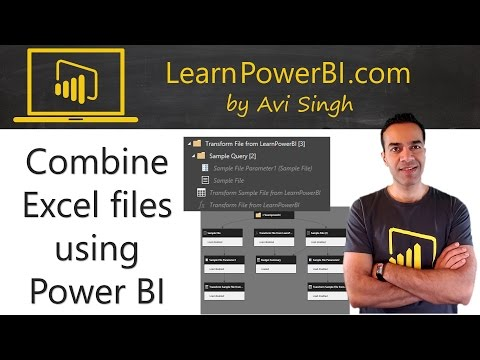 Power BI: How to Combine Multiple Excel Files from a Folder
