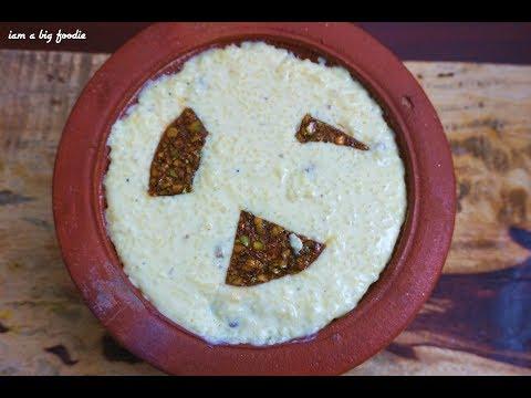 Mughlai cuisine Rice Pudding Phirni     Phirni recipe