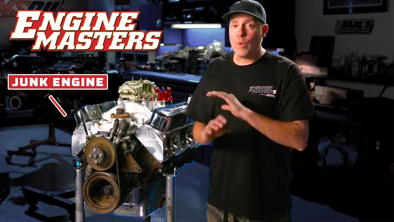 Junk Engine Rebuilds! | Engine Masters | MotorTrend