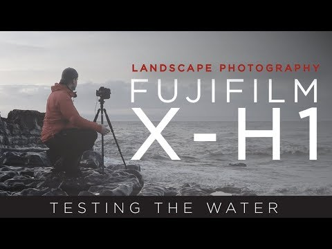 Testing The Water - Fujifilm X-H1 Landscape Photography at Ogmore Bay South Wales