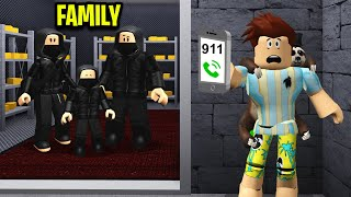 My Family Were Secretly CRIMINALS.. I Called The Cops! (Roblox)