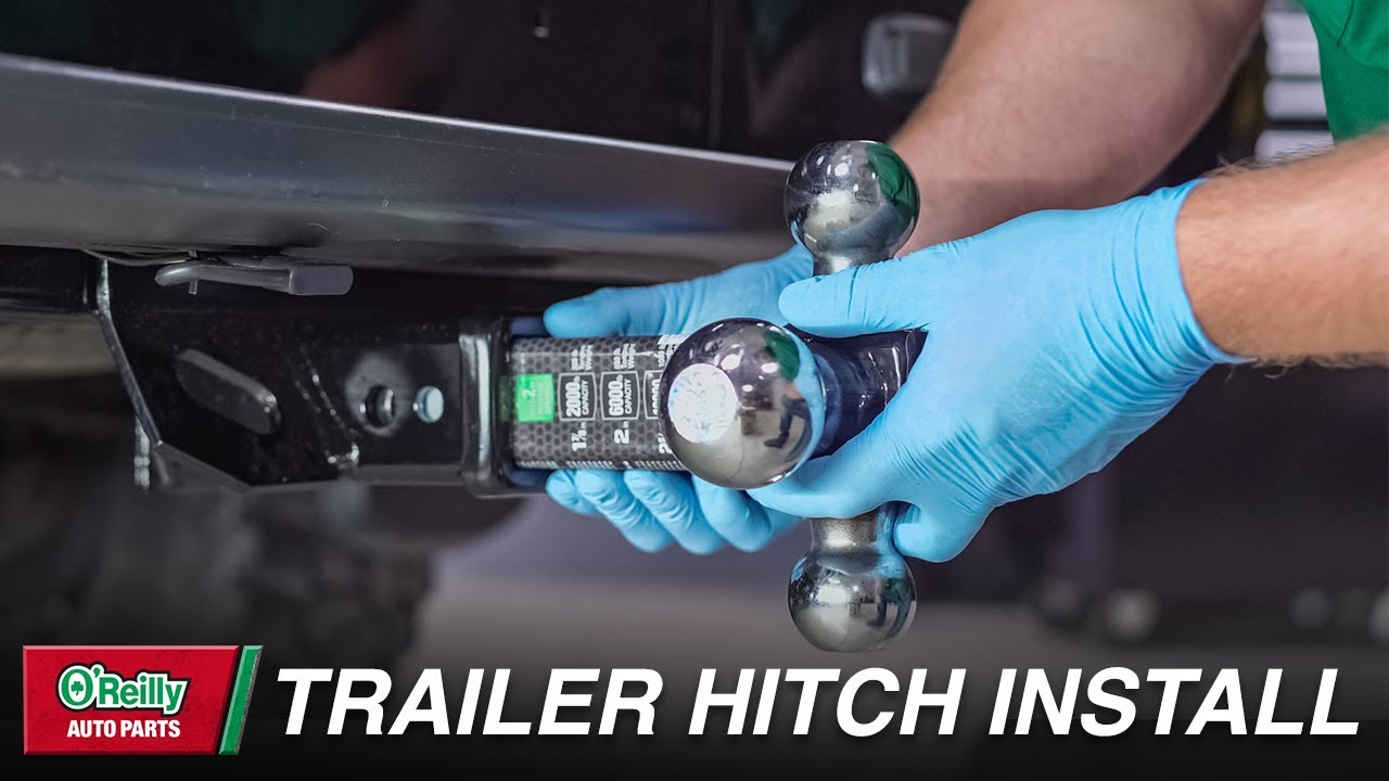 How To: Install a Trailer Hitch