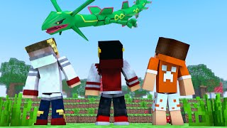 Minecraft: Saphira Pokemon #41 - RAYQUAZA ‹ AM3NlC ›
