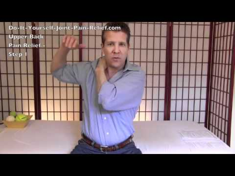 Upper Back Pain Relief - Step 1