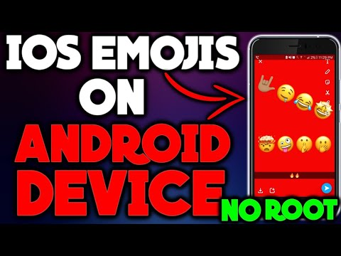 How To Get iOS 11 Emojis On Android 2018 (NO ROOT) with SKIN TONES (FULL TUTORIAL)!