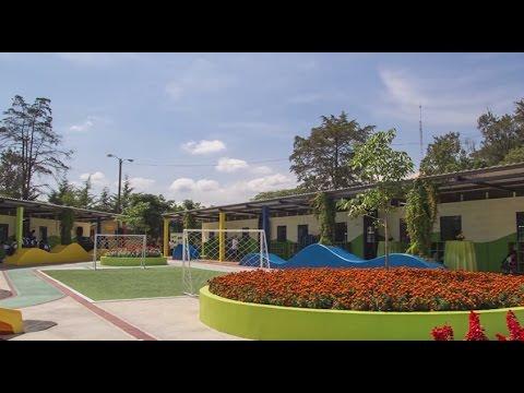 Los Patitos school opening, Jeffrey Puritt speech