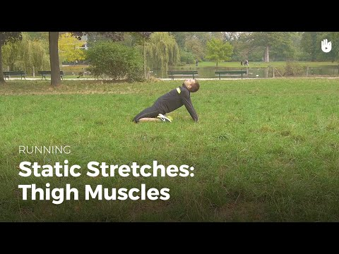 Static Stretches : Thigh Muscles | Running