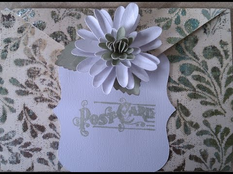 Envelope Fold Handmade Card