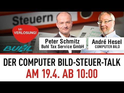 WISO Steuer-Sparbuch: Der COMPUTER BILD-Steuer-Talk