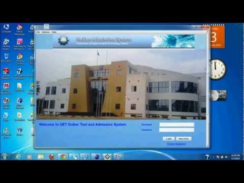 JAVA Project, Test and Admission System