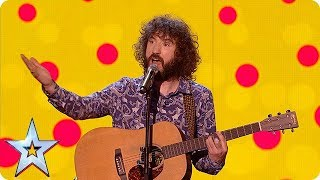HILARIOUS! Prepare for some serious belly laughs with Micky P Kerr!   The Final   BGT 2018