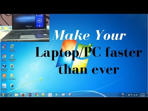 How To Make Your PC/Laptop Run Faster| Boot in 20 Seconds | 6 Simple Steps