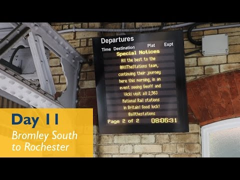 Is There A Toilet On This Train? - Episode 7, Day 11 - Bromley South to Rochester