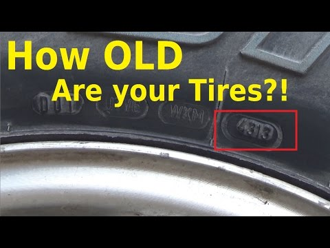 How old are your Tires? - DOT Number Decoding - Automotive Education