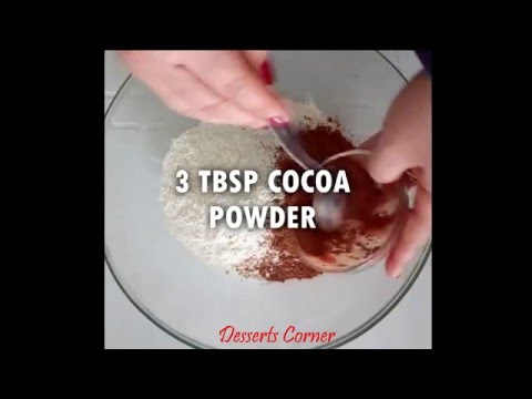 Chocolate Crazy Cake - No Eggs, No Milk, No Butter - Easy Cake Recipe