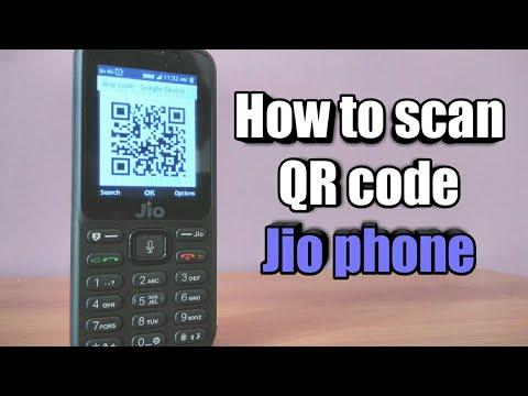 Jio phone : QR code scanner ✓