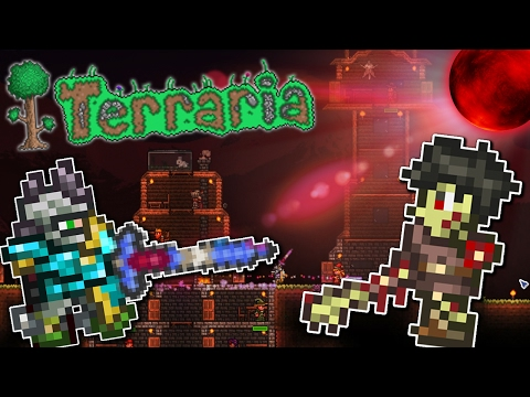 Terraria 1 3 4 - MODDED EXPERT MODE (Funny Moments and Fails