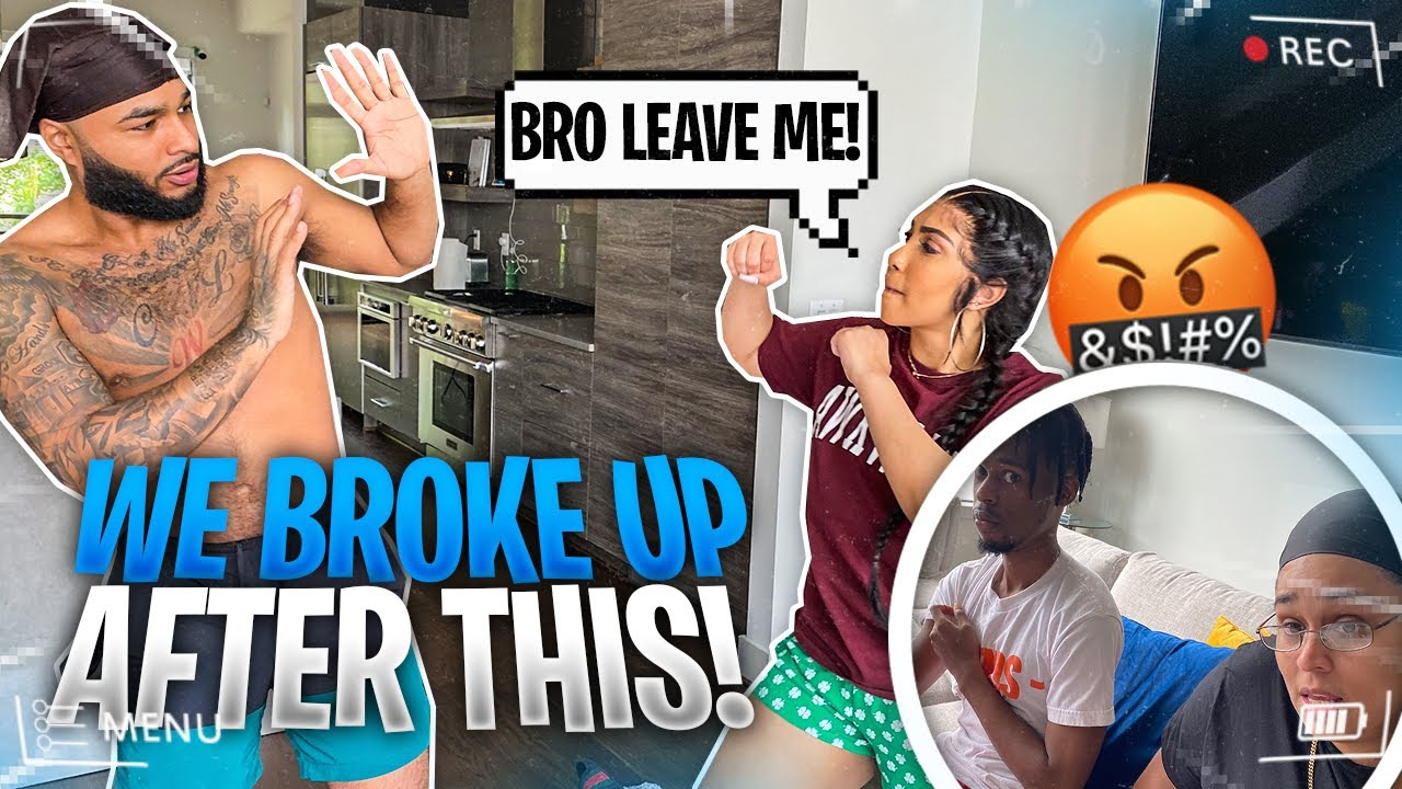 GOING OUR SEPARATE WAYS 😞 IN FRONT OF COMPANY ( prank )