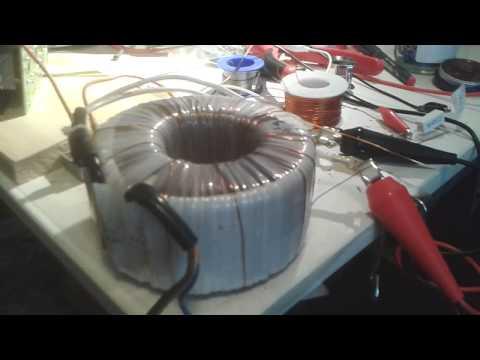 SIMPLE Toroid transformer experiment
