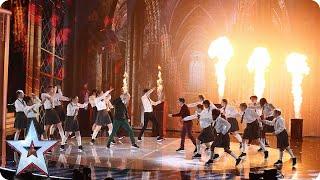 Dance troupe Entity Allstars are magic!   Semi-Final 1   Britain's Got Talent 2015