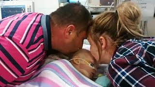 Parents Kiss Their Daughter Goodbye In The Hospital. 30-Minutes Later, A Scream Is Heard In The Room