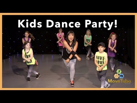 Kids Learn a Dance to