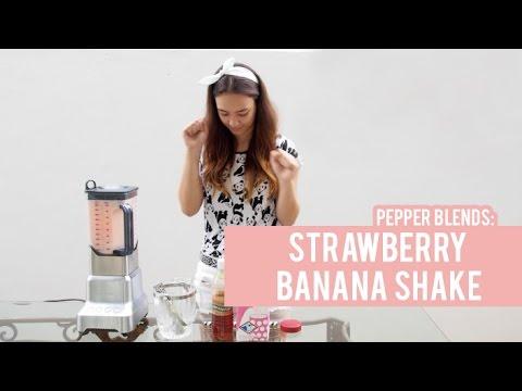 Pepper Blends: Strawberry Banana Shake