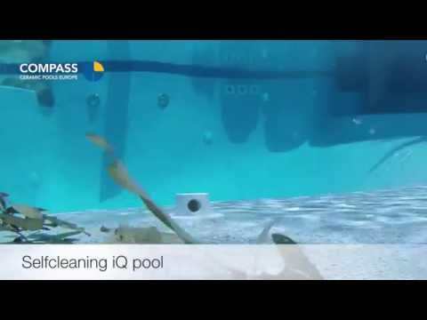 Self-cleaning iQ pool - find in 36 seconds how to clean Compass pool
