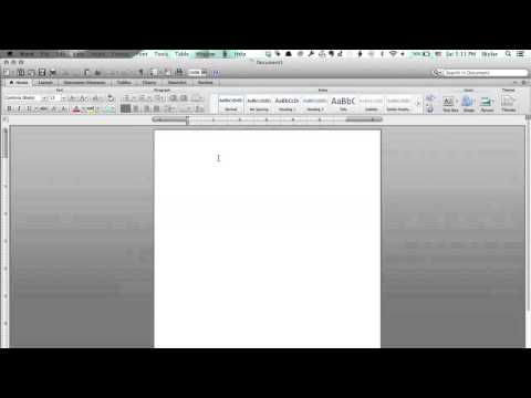 How to Do Accents With Microsoft Word on a MacBook Pro : Tech Yeah!
