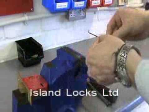 Lever Lock Pick Wires Part 1