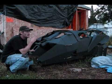 Tumbler Go Kart ( New / Next Batmobile ) █ █ in Dark Knight Rises  █ █