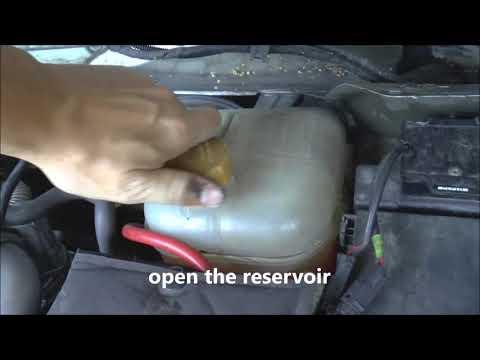 How to drain coolant - Opel/Vauxhall Astra, Zafira, Vectra, Meriva, Corsa,