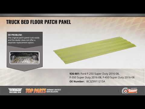 Truck Bed Floor Patch Panel