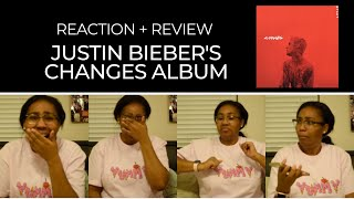 REACTING TO JUSTIN BIEBER'S CHANGES ALBUM