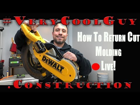 Molding Return Edge - How To Dead End Moulding - Live How To