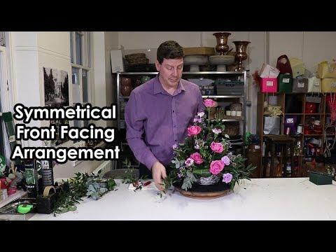 How To Make A Symmetrical Front Facing Arrangement