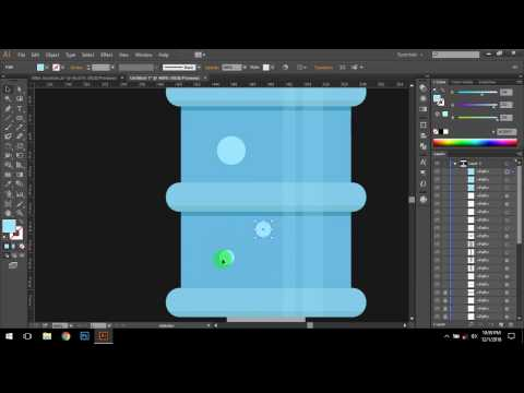 Flat design illustration   Adobe Illustrator CC