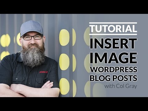 How to insert images into Wordpress blog posts