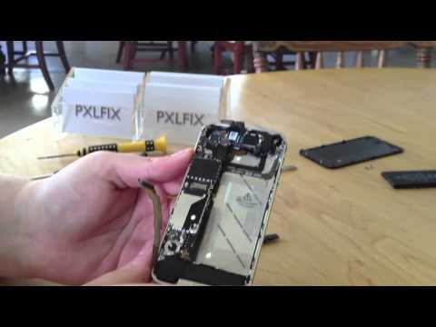How to replace a CDMA iPhone cracked or broken screen