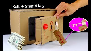How to make a Safe Locker From Cardboard with