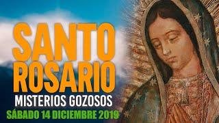 Santo Rosario de Hoy Sábado 14 de Diciembre de 2019|  MISTERIOS GOZOSOS