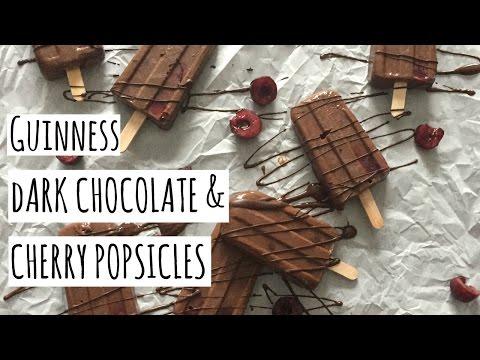 Guinness and Dark Chocolate Popsicles // Vegan // Breaking Chegan
