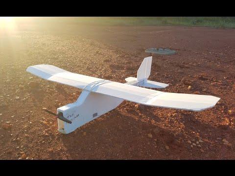 My First Scratchbuilt RC Airplane!