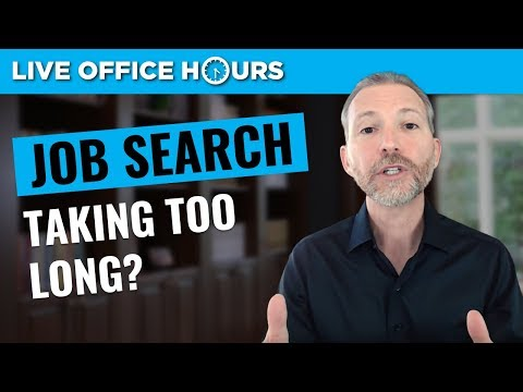 Why Your Job Search Is Taking So Long: Live Office Hours: Andrew LaCivita